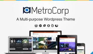 MetroCorp – a Multipulpose WordPress Theme
