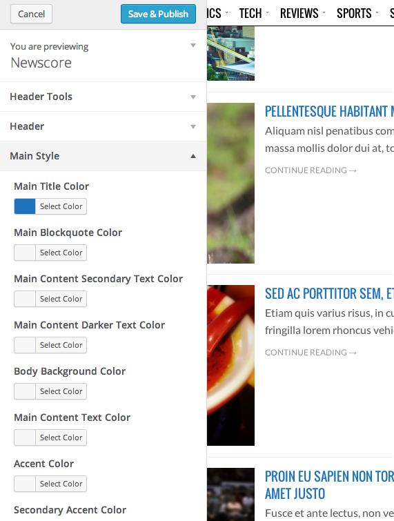Customize Newscore 1.3.*